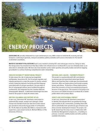 Energy Projects Brochure (2016)