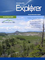 Geoscience BC's Explorer Magazine and Annual Report 2010