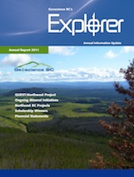 Geoscience BC's Explorer Magazine and Annual Report 2011