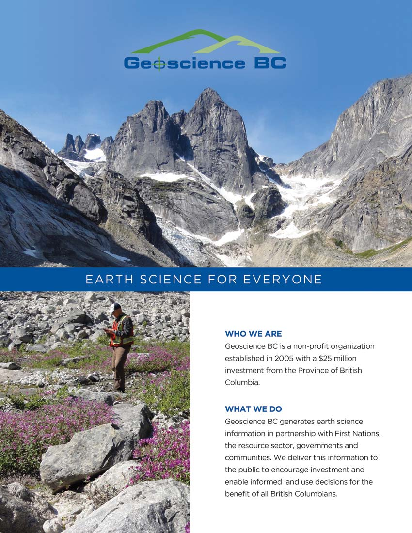 Geoscience BC: Earth Science For Everyone (2014)