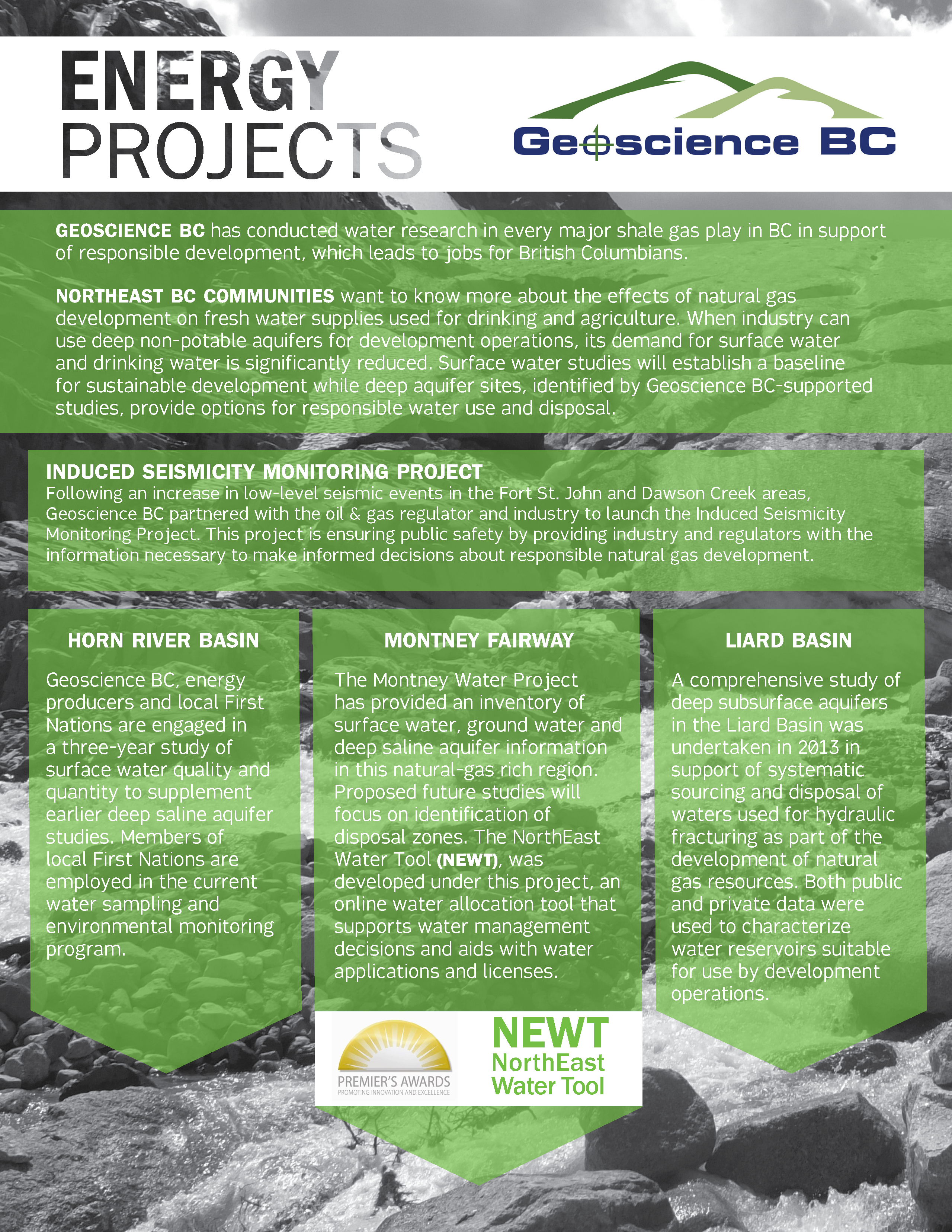 Energy Projects Brochure (2015)