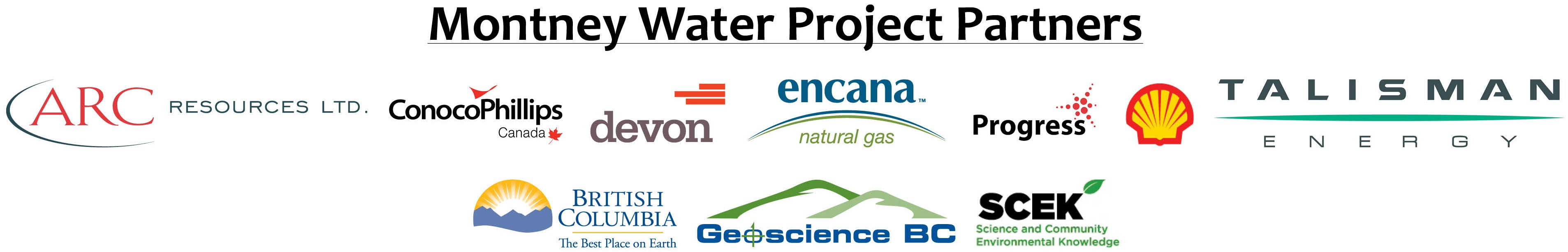Montney Water Project Partners