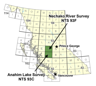 Nechako and Anahim Survey Area