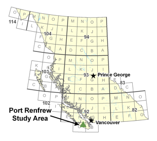 Port Renfrew Study Area