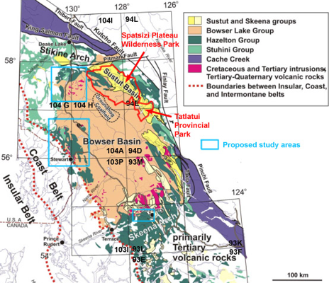 Bowser Basin Project Area