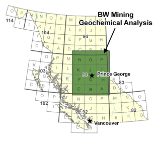 BW Mining QUEST Geochemical Analysis Project