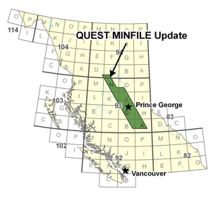 QUEST MINFILE Update