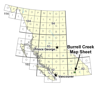 Burrell Creek Map Sheet