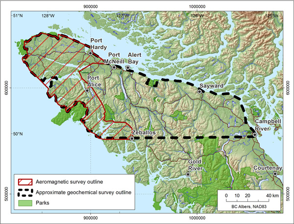 Geoscience BC - Northern Vancouver Island Project - Thu Sep 20, 2018
