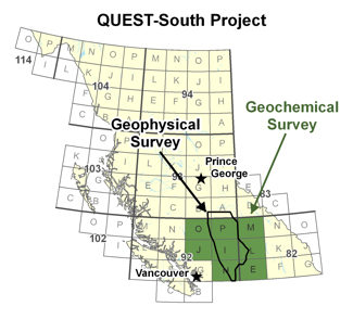 QUEST-South Project Area