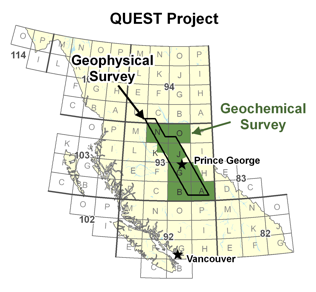 QUEST Project Area